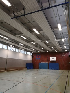 LED-Beleuchtung Josef-Schule